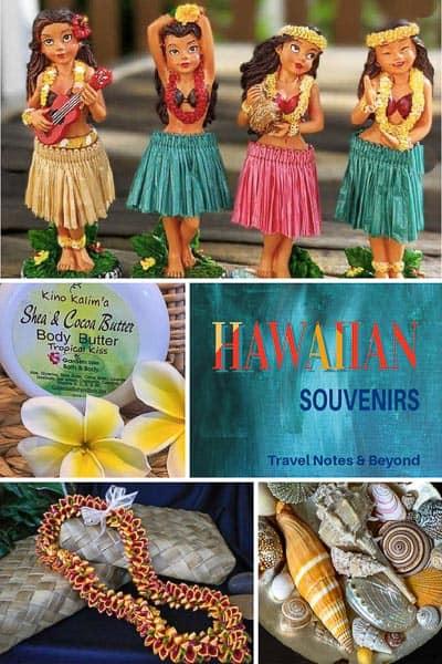 Hawaiian souvenirs pin