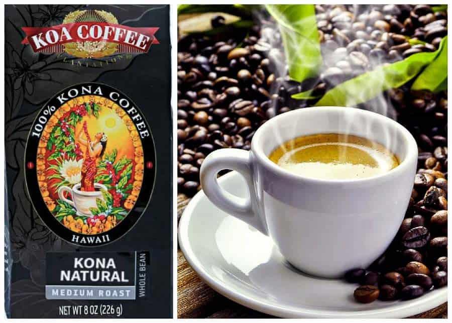 Hawaiian souvenirs: Kona Coffee