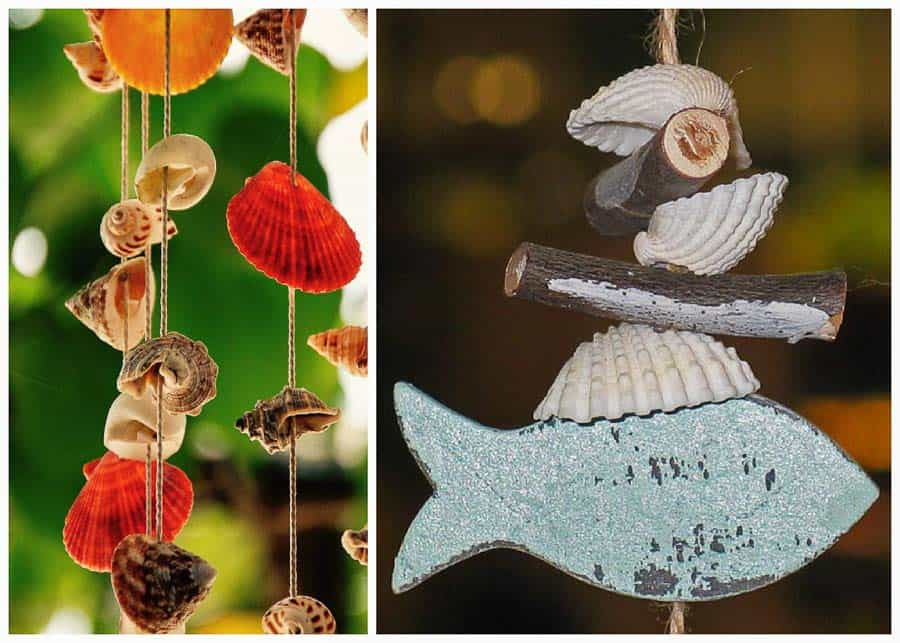 shell wind chimes