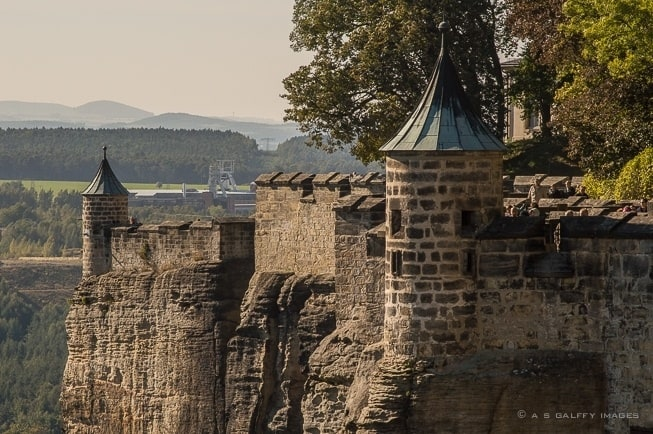 Königstein - The Fortress of the Saxon Switzerland
